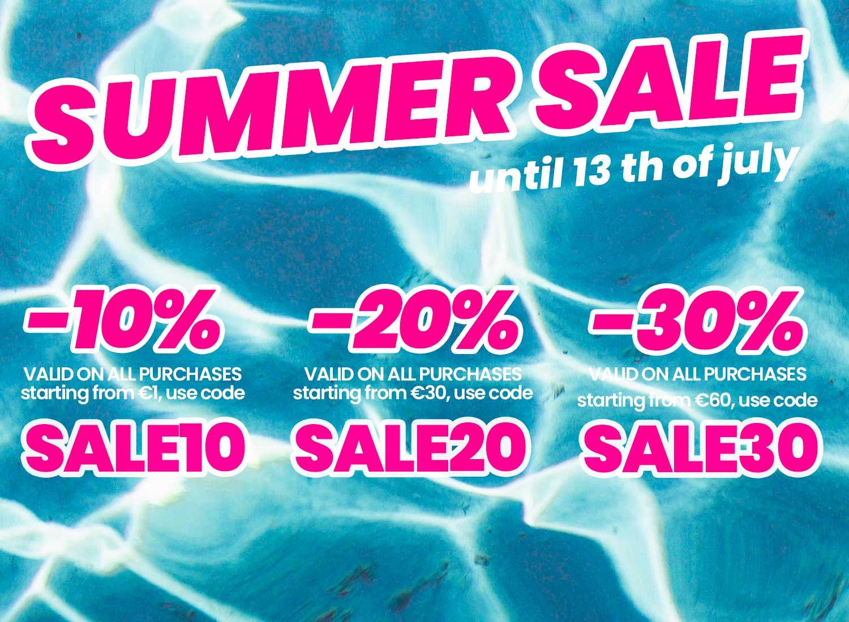 Summer sales 2021: here we go!